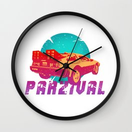Parzival Wall Clock
