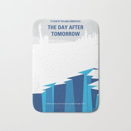 No651 My The Day After Tomorrow minimal movie poster Bath Mat