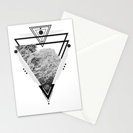 Wiccan Water Element Symbol Pagan Witchcraft Triangle Stationery Cards