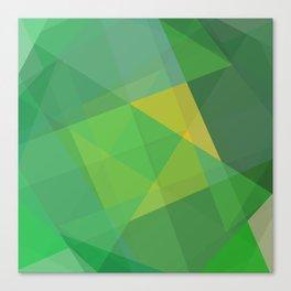 Polygon print bright colors #society6 #decor #buyart #artprint Canvas Print