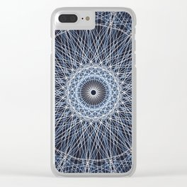 Abstract Geometric Art c13951 Clear iPhone Case