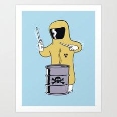 Toxic Beats Art Print