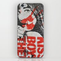 graffiti iPhone & iPod Skins featuring Graffiti by AntWoman