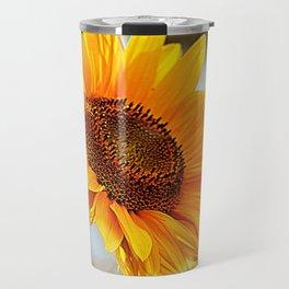 Radiant Sunflower Travel Mug