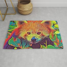 AnimalColor_RedPanda_001_by_JAMColors Rug