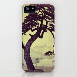 Old Man Standing iPhone Case