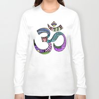 ohm Long Sleeve T-shirts featuring Ohm by Ilse S