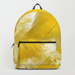 Golden Feathers Backpack