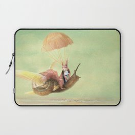 Cedric and the Golden Snail Laptop Sleeve