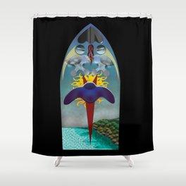 Guidance Shower Curtain