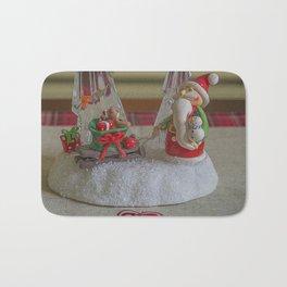Santas Sleigh. Bath Mat