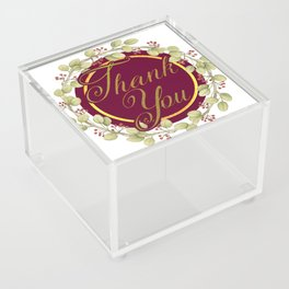 Say Thank You Acrylic Box