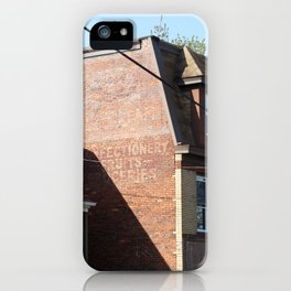 Ghost of Mexico Street - color iPhone Case