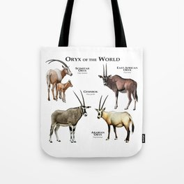 Oryx of the World Tote Bag