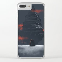 Sword art online place v2 Clear iPhone Case