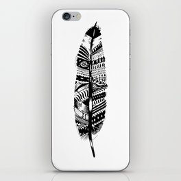 Feather time  iPhone Skin