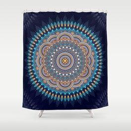 Shine mandala Shower Curtain