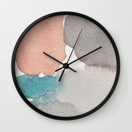 Water and color 22 Wall Clock