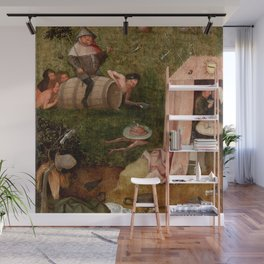 "Hieronymus Bosch ""Allegory of Gluttony"" Wall Mural"
