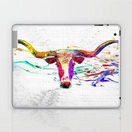 Longhorn Grunge Laptop & iPad Skin
