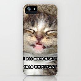 Happy Kitten iPhone Case