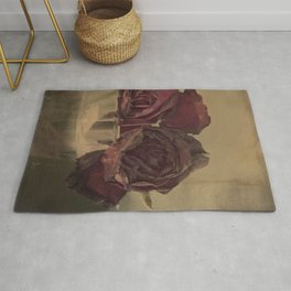 The veins of Roses Rug