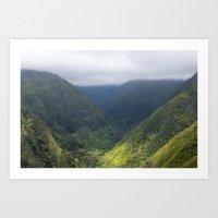Maui Forest Art Print