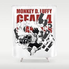 Gear 4 Snakeman Monkey D.Luffy Shower Curtain