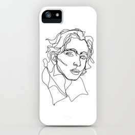 Timothée Chalamet iPhone Case