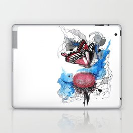 Butterfly I by carographic, Carolyn Mielke Laptop & iPad Skin