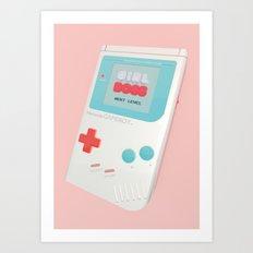 Girlboss Next Level Art Print