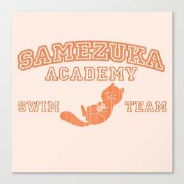 Samezuka - Otter Canvas Print