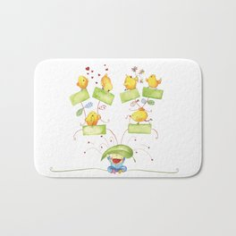 Baby family tree Bath Mat