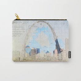 Gateway Arch, Saint Louis USA Carry-All Pouch