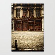 Greene Street SoHo Canvas Print