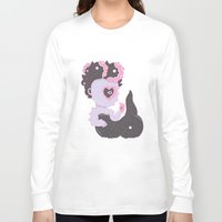 ursula Long Sleeve T-shirts featuring LTTLE URSULA by MujerCiervo