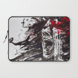 The Pain of Cluster Headache Laptop Sleeve
