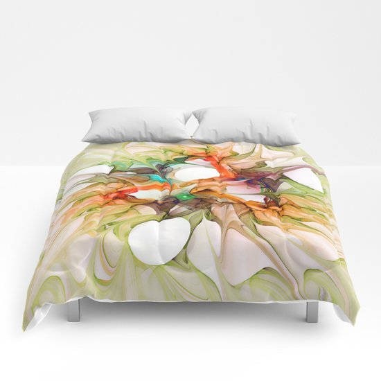 Dancing in the Wind 2 Comforters