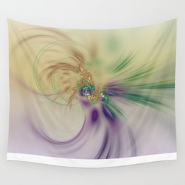 Fall Festive Fractal Wall Tapestry