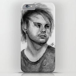 MC Pencil Portrait iPhone Case