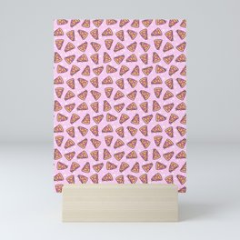 Pizza Magic // Pink Mini Art Print