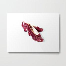 Ruby Slippers Metal Print