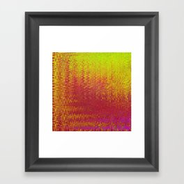 LASERTRONIC WAVES BOILING ORION TWO Framed Art Print