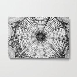 Glass dome Metal Print