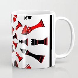 Red/Black Chessmen Coffee Mug