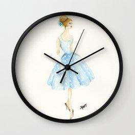 The Polka Dot Dress Wall Clock