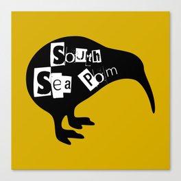 KIWI South Sea Pom Canvas Print