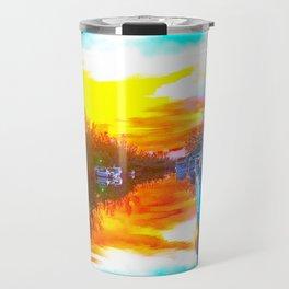 Island Sunrise Travel Mug