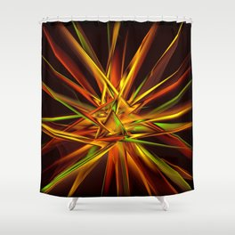 Spontaneous Shower Curtain