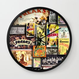 FREAKS HD by JC LOGAN 4 Simply Blessed Wall Clock